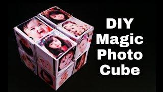 Magic Photo Cube Tutorial | DIY - Magic Photo Cube