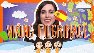 Spanish VIKING PILGRIMAGE Words with Rosa!