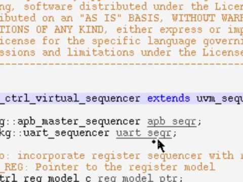 UVM SV Basics 14 Virtual Sequencer Sequence