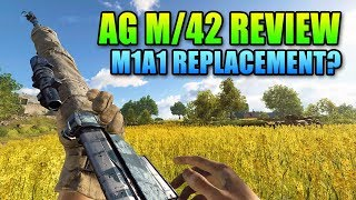 Ag m/42 Review - Better Than The M1A1?   Battlefield 5