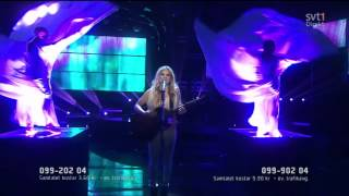 Lisa Miskovsky - Why Start A Fire @ Melodifestivalen 2012 (HD 1080p)