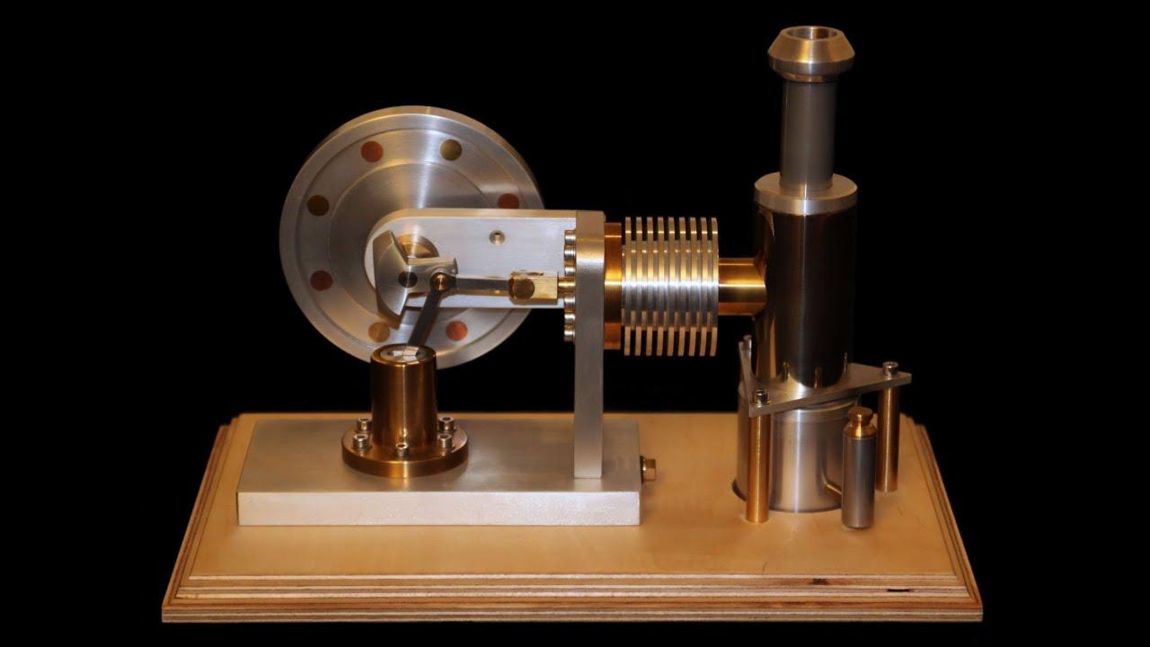 Stirling engine diy youtube for Decor 9 stirling