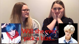 My Sister Reacts To Who Is BTS?: The Seven Members Of Bangtan - BTS Reaction