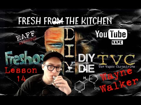 Fresh From The Kitchen Lesson 14-Wayne From DIY or DIE
