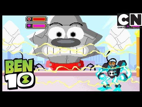 Ben Dentro de Un Videojuego | El Regreso De Xingo | Ben 10 en Español Latino | Cartoon Network