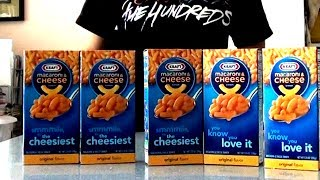 5-minute Mac n' Cheese Challenge | Matt Stonie