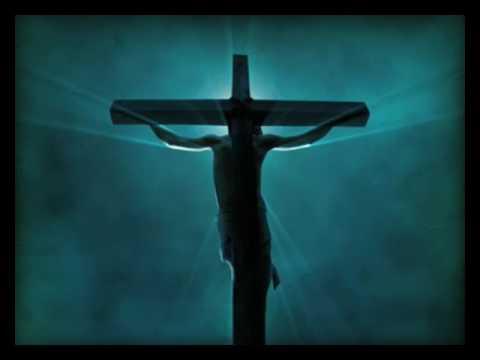 Free Worship Background - Christ on Cross Center
