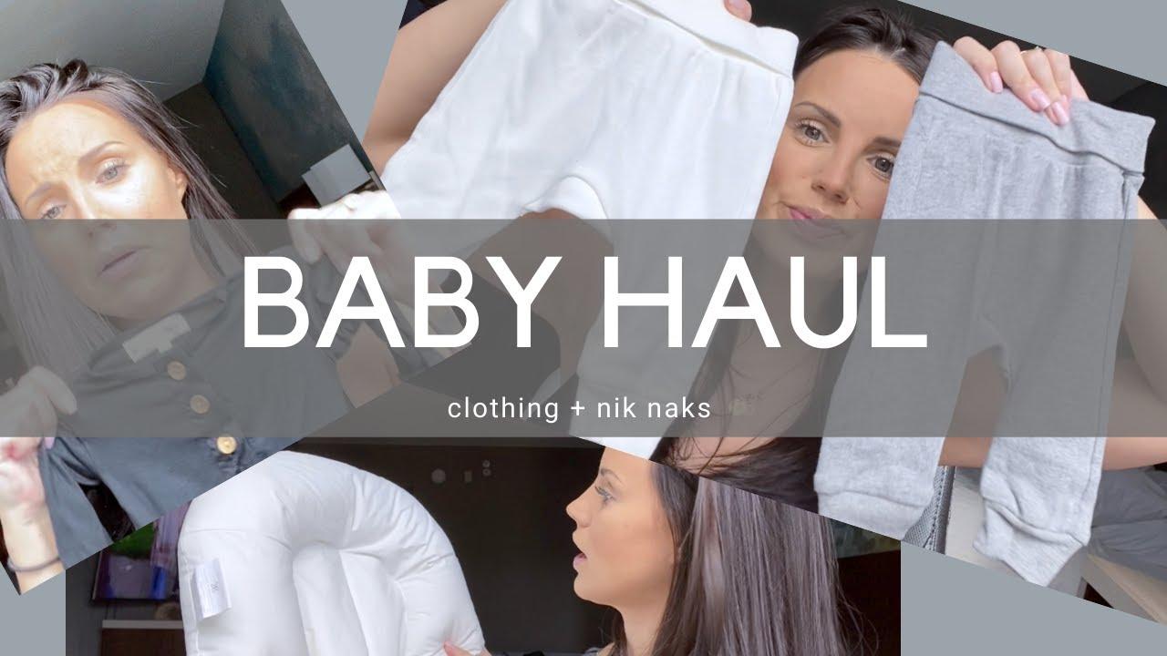 Baby Haul: clothing + nik naks