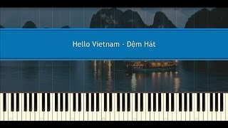Hello Vietnam - Đệm Hát - Piano Tutorial