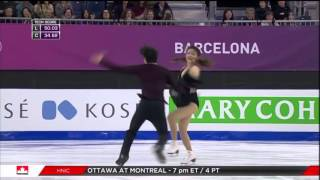 2015   2016   GPF   Dance   FD   Maia Shibutani & Alex Shibutani   Fix You by Coldplay
