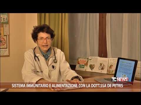 Sistema immunitario e alimentazione con la Dott.ssa De Petris