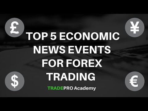 Top 5 Economic News Events For FOREX Trading