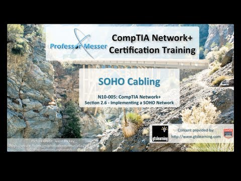 SOHO Cabling - CompTIA Network+ N10-005: 2.6