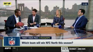 ESPN GET UP | Which team will win NFC North this season?