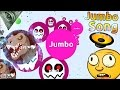 Agar.io Best Moments Ever + Jumbo Song !! video