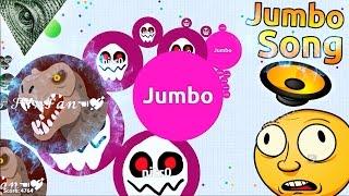 Agar.io BEST MOMENTS EVER + Jumbo Song !!