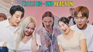 KOREAN react to EUROVISION 2020 LITTLE BIG - UNO (Russia)