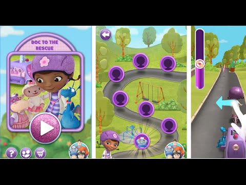 Doc Mobile Clinic Rescue Disney Family Games Android İos Free Game GAMEPLAY VİDEO