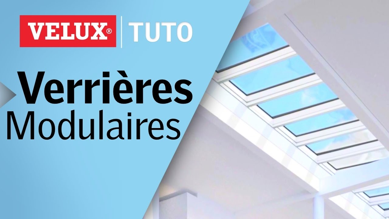 pourquoi choisir les verri res modulaires velux youtube. Black Bedroom Furniture Sets. Home Design Ideas