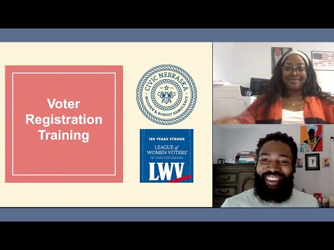 Your 2020 Guide to Helping Others Register to Vote in Nebraska