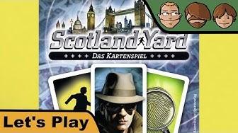 Scotland Yard - Das Kartenspiel - Let's Play mit Häuptling Wilde Himbeere