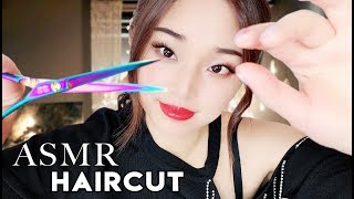 [ASMR] Relaxing Haircut ~ Shampoo | Scissors | Styling
