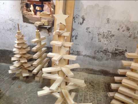 Arboles de navidad de madera youtube - Arboles de navidad de madera ...