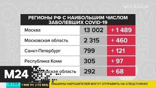 Москва, Подмосковье и Петербург возглавили список по числу заболевших коронавирусом - Москва 24