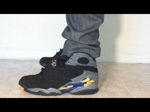"Playoff 8s 2013 On Feet Jordan 8 VIII ""Ph..."