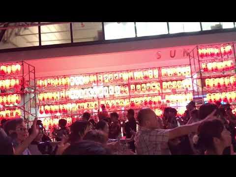 『中野駅前大盆踊り大会』はるな愛さんによる新曲『BONダンス』♡