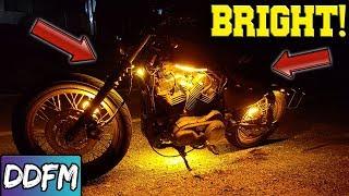 Are Motorcycle LEDs Worth It?! Custom Dynamics Magic Flex LEDs