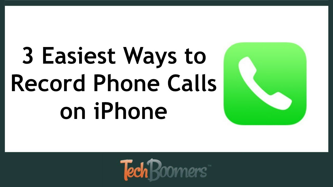 how to record calls on iphone 3 easiest ways to record phone calls on iphone 6597