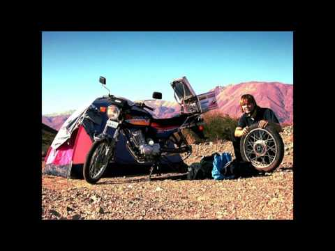 Budget adventure trip riding ultra low cost around South America on a motorbike - Tobias Dreissig