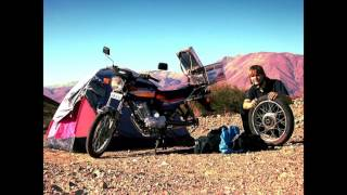 Budget adventure trip riding ultra low cost around South America on a motorbike - Tobias Dreissig