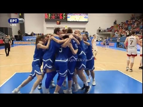 Ρωσία - Ελλάδα 58-62 Highlights Eurobasket Γυναικών 2017 {20/6/2017}
