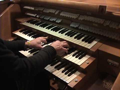 1962 Custom Allen Organ