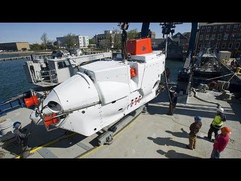 Deep Submergence Vehicle DSV Alvin Submersible