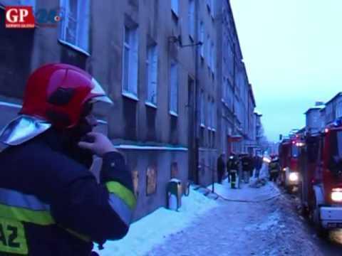 Spłonęło mieszkanie przy ul. Wolności w Słupsku