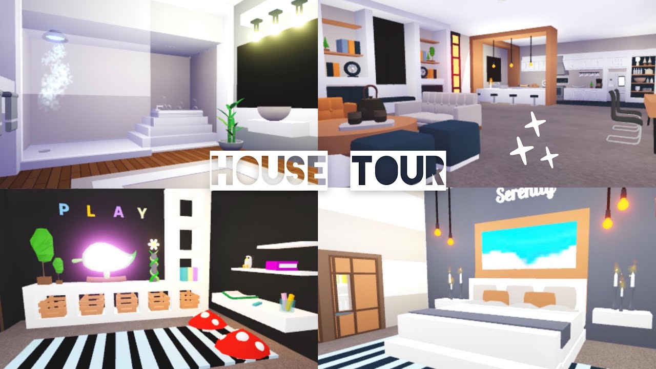 Futuristic House Tour Adopt Me Roblox Youtube