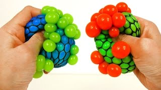 Learn Colors for Toddlers with Fun Squishy Bubbles Ball Video for Children