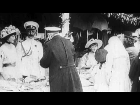 Romanovs. The White Flower Day in Livadia (Yalta)