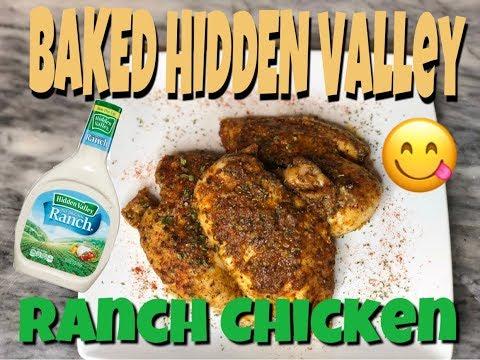 HIDDEN VALLEY BAKED CHICKEN !!!♨️❗️❗️❗️❕‼️ EASY MEALS💯⚠️