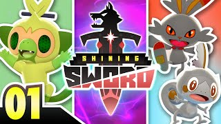 A BRAND NEW ADVENTURE! Pokemon Shining Sword Nuzlocke Ep:01