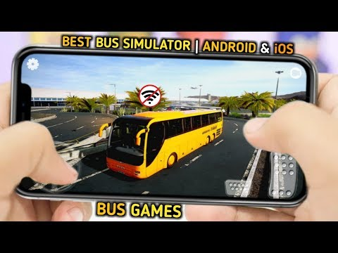 Top 10 Best Bus Driving Simulator Games For Android & IOS 2020 | Bus Games | Bus Wali Game