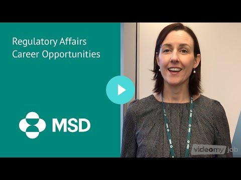 Regulatory Affairs Career Opportunities