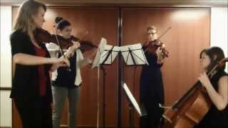 Don't Worry, Be Happy, by Bobby McFerrin--acoustic string quartet cover by Thalia Strings
