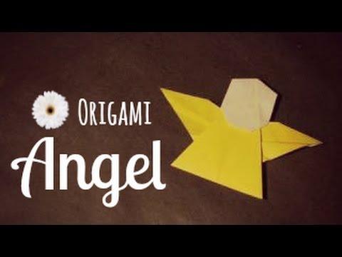 Origami Angel By Tadashi Mori Youtube