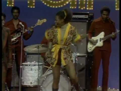 CBJames Brown and The Soul Train Dancer