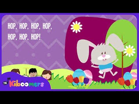 Hippity Hop Easter Bunny   Kids Song   Lyrics   Nursery Rhyme   Action Songs
