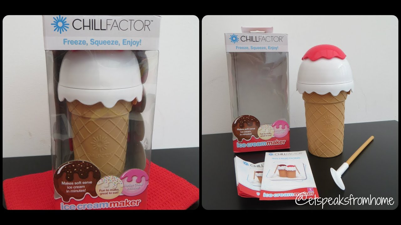 Ice Cream Maker Reviews Part - 27: Chill Factor Ice Cream Maker Review - YouTube